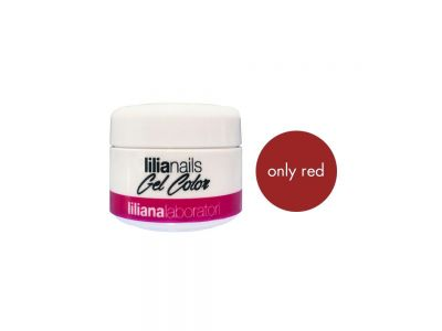 ONLY RED GEL COLOR