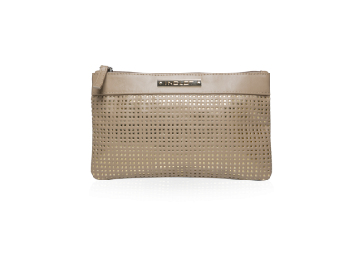 COSMETIC BAG BEIGE & ORO