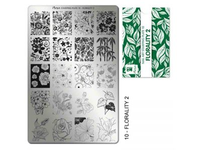 STAMPING FLORALITY 2 PLATE - MOYRA - 10