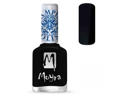 SEMIPERMANENTE - MOYRA - POLISH BLACK 06 - 10ML