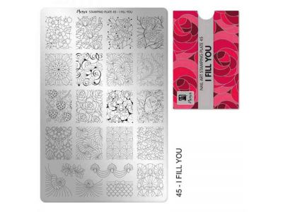 STAMPING I FILL YOU PLATE - MOYRA - 45